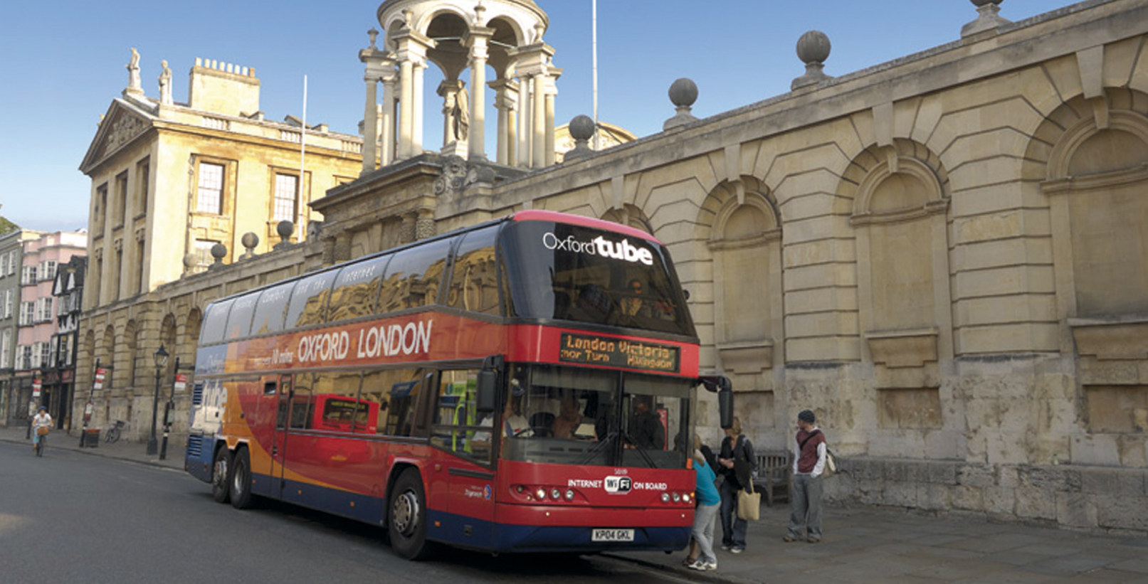 Bus in Oxford